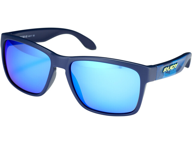 Rudy Project Spinhawk Okulary rowerowe, neo camo blue - rp optics multilaser blue